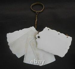 Ancien carnet de bal miniature époque XIXème
