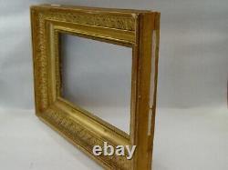 Ancien petit cadre bois doré époque Empire XIXéme