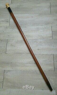 Ancienne canne à système Époque 1830 Louis-Philippe 1er VIVE LE ROY XIXème