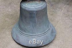 Ancienne cloche de propriété en bronze époque XIX ème siècle