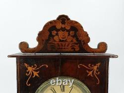 Ancienne horloge en marqueterie époque XIX ème s