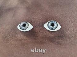 Ancienne paire yeux BB d'époque fin XIXème