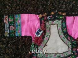 Antique superbe robe BB ASIATI Simon & Halbig époque fin XIXème