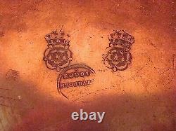 Assiette de récompense en étain époque XIX ème