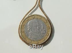 BELLE CHAÎNE ANCIENNE d'époque XIXème en OR JAUNE 18K 750/1000°/ Longueur 48,5cm