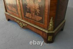 Bibliothèque Napoléon III en palissandre époque XIXème