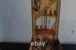 Billard ancien époque fin XIXème papier peint