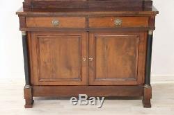 Buffet double ancien en bois de cerisier, époque Empire 1800 Sec XIX ème