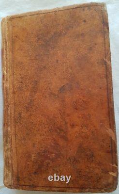 C1 NAPOLEON CODE CIVIL DES FRANCAIS 1806 Relie PLEIN CUIR D EPOQUE Bel Etat