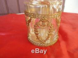 Cave A Parfums Epoque Empire XIX Eme Decor Bronze Renommees / Antic Perfume