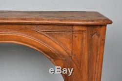 Cheminée frêne et son trumeau d'époque fin XVIIIème début XIXème