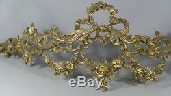 Ciel De Lit Louis XVI En Bronze, époque Fin XIX ème