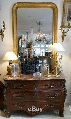 Commode Tombeau De Style Regence En Marqueterie, époque XIX ème