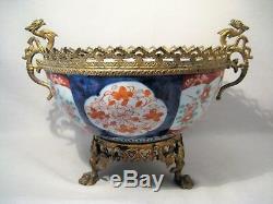 Coupe en porcelaine Imari Japon époque XIX ème siècle