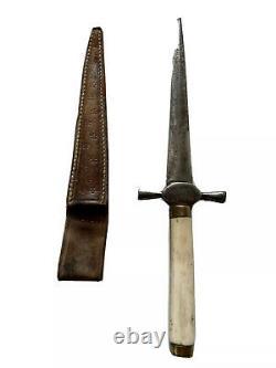 Dague de Vertu Stylet de Prostituée dit Pique Couilles Défense Époque XIXème