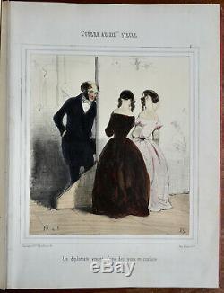 Edouard De Beaumont (1812-1888) Opera Au XIX Eme, 58 Lithos, Coloris Epoque