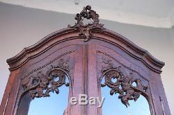 Encoignure En Chêne De Style Louis XV époque XIXème