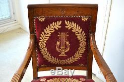 Fauteuil empire d'époque XIXème