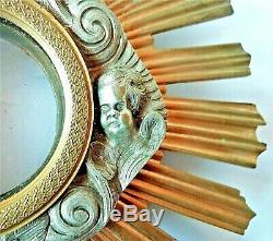 Grand reliquaire, sculpture en bronze doré et argenté d'époque XIX ème