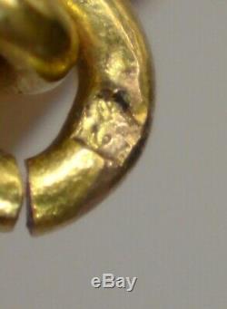 Grenat de Perpignan collier en draperie Catalan Or 18K et Grenats époque XIXeme