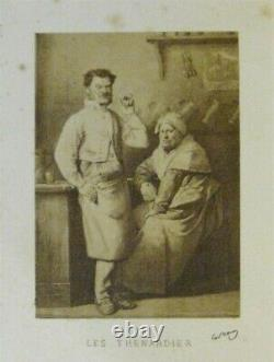 HUGO, Les misérables, Paris, 1863, avec rare suite photographique de l'époque