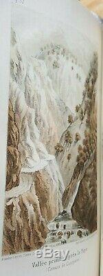 Henri Lecoq Les époques géologiques de l'Auvergne, avec 170 planches. 1867