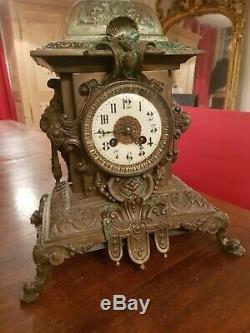 Horloge Bronze, cartel, Napoléon III époque fin XIX ème s