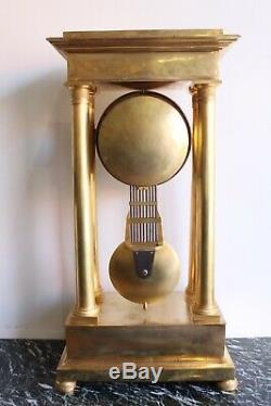 Importante Pendule Régulateur Epoque XIXème
