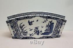 Jardinière en faïence de Gien à décor japonisant époque XIX ème siècle