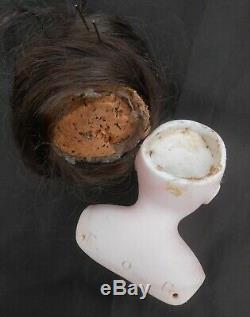 Jolie Tête buste Parisienne François Gautier taille 0 époque fin XIXème