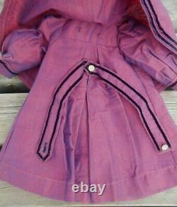 Magnifique manteau cape BB type Jumeau d'époque fin XIXème