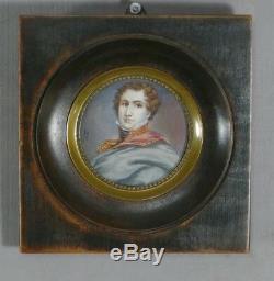 Maréchal Soult, Miniature, Portrait époque XIX ème