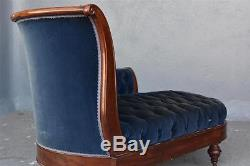 Méridienne acajou de style Louis-Philippe d'époque XIXème
