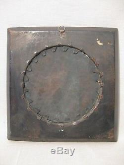 Miniature sur cuivre à décor d'amours époque XIX ème siècle