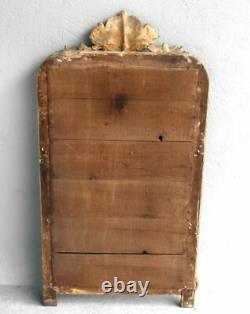Miroir stuc doré époque Louis Philippe XIXème
