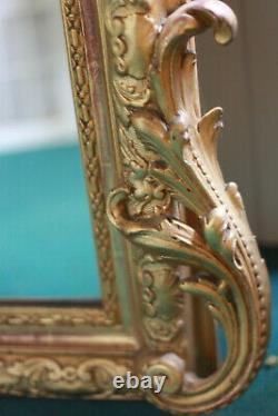 Miroir style rocaille époque fin XIXeme