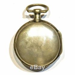 Montre de gousset mouvement à coq d'époque XIXème