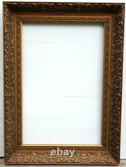 N° 398 CADRE Epoque XIXème bois doré pour chassis 61 x 41,5 cm