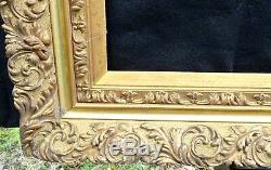 N° 565 Grand CADRE Epoque XIXème siècle pour chassis 95,5 x 76,5 cm
