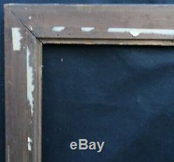 N° 635 CADRE Epoque fin XIXème bois sculpté pour chassis 80.5 x 63 cm