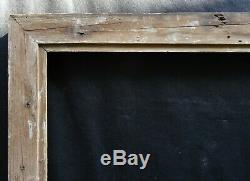 N° 655 CADRE Epoque XIXème bois doré à la feuille pour chassis 74.4 x 60.8 cm
