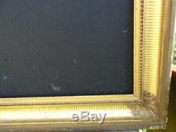N° 707 Grand CADRE à canaux Epoque XIXème bois pour chassis 93,5 x 74,5 cm