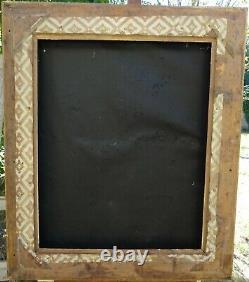 N° 730 Grand CADRE Epoque XIXème bois doré à la feuille pour chassis 79 x 64 cm