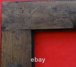 N° 745 CADRE Epoque fin XIXème bois style haute époqu pour chassis 72 x 61,3 cm