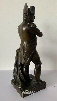 Napoléon 1 er, sujet en bronze d époque XIX ème siècle