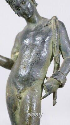 Narcisse De Pompéi, Bronze d'Après l'Antique, Grand Tour, époque XIX ème