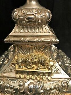 Ostensoir en argent massif poinçon Minerve époque XIXème siècle