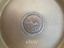 Paire de 2 Coupes en bronze signée Auguste Delafontaine époque XIX ème siècle