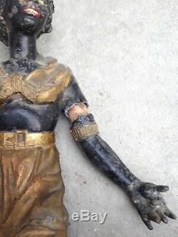 Paire de Nubiens à Restaurer époque XIXeme