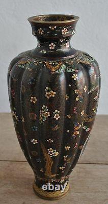 Paire de vase Chinois Cloisonné époque XIXème